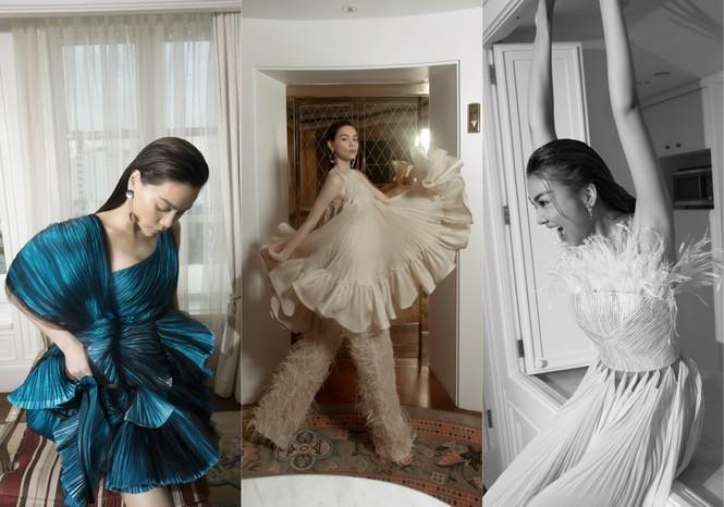 Thanh Hằng, Hà Hồ xuất hiện cực đẳng cấp trên VOGUE Pháp trong trang phục Công Trí - ảnh 3