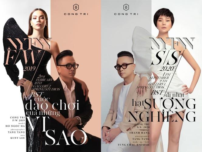 Thanh Hằng, Hà Hồ xuất hiện cực đẳng cấp trên VOGUE Pháp trong trang phục Công Trí - ảnh 2