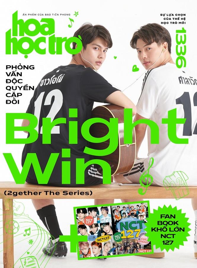 Hoa Học Trò 1336: Đọc ngay bài phỏng vấn độc quyền BrightWin, tặng fanbook NCT 127! - ảnh 1