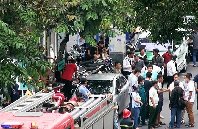 Khởi tố cô gái dọa nổ bom cướp ngân hàng ở TPHCM - ảnh 2