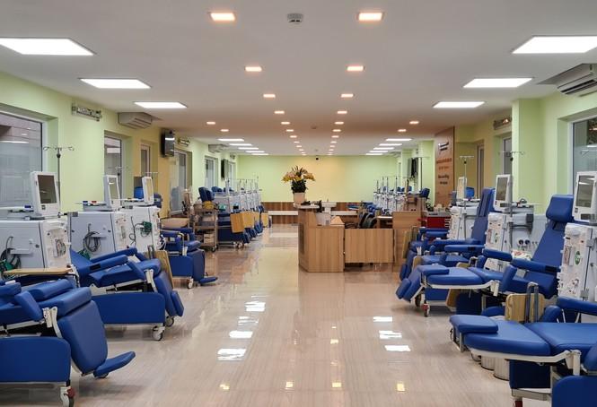 Trung tâm lọc máu kỹ thuật cao hiện đại nhất Việt Nam hoạt động - ảnh 1