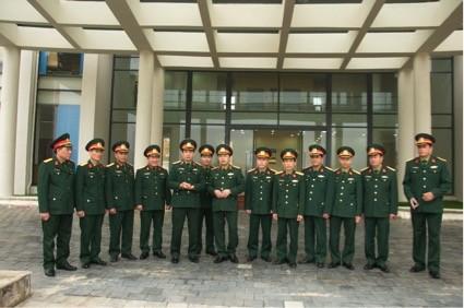 Trung tướng Phan Văn Giang làm việc với Trung tâm hành động bom mìn quốc gia - ảnh 1