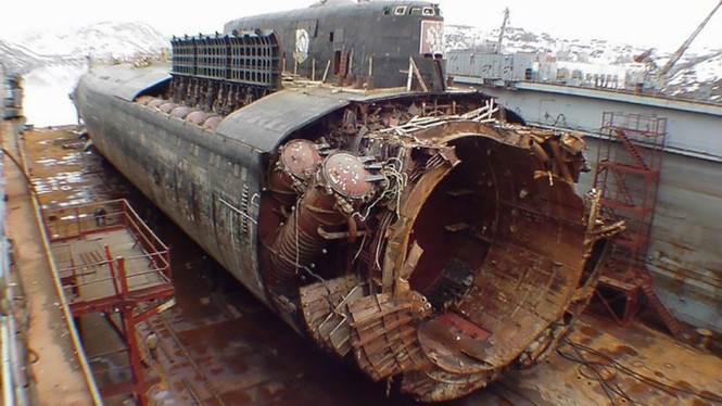 Năm tai nạn tàu ngầm thảm khốc nhất lịch sử nước Nga - ảnh 1