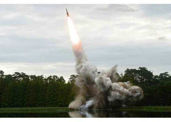 Xem tên lửa Triều Tiên rời bệ phóng, nhắm trúng mục tiêu trên biển - ảnh 5