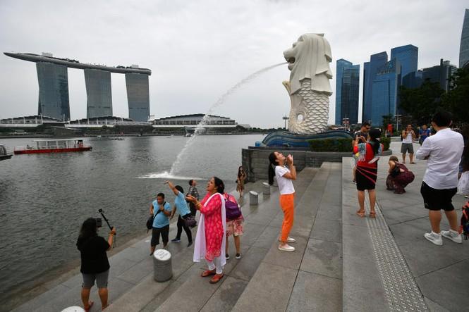 Singapore dỡ bỏ tượng sư tử biển lớn nhất để làm đường - ảnh 1