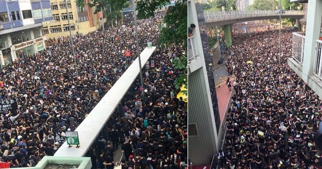 biểu tình Hong Kong trưởng đặc khu xin lỗi Joshua Wong được thả - ảnh 2