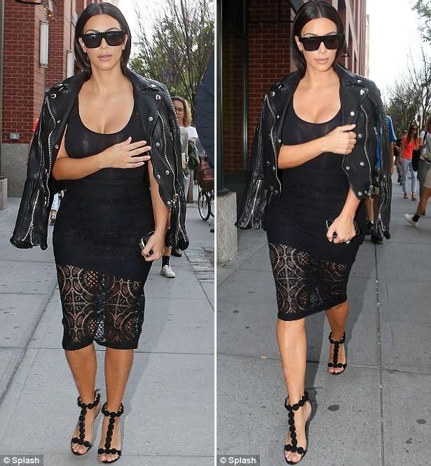 Cô Kim liên tục ăn mặc sexy ra đường sau đám cưới - ảnh 2