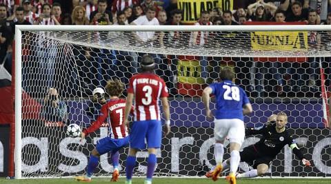 Leicester bốc hoả vì bàn thắng 'tưởng tượng' của Atletico - ảnh 2