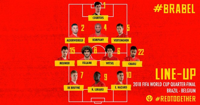Bỉ tiễn Brazil về nước, World Cup thành sân chơi riêng châu Âu - ảnh 2