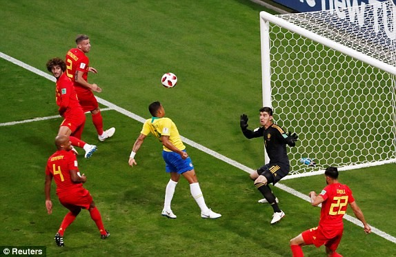 Bỉ tiễn Brazil về nước, World Cup thành sân chơi riêng châu Âu - ảnh 15