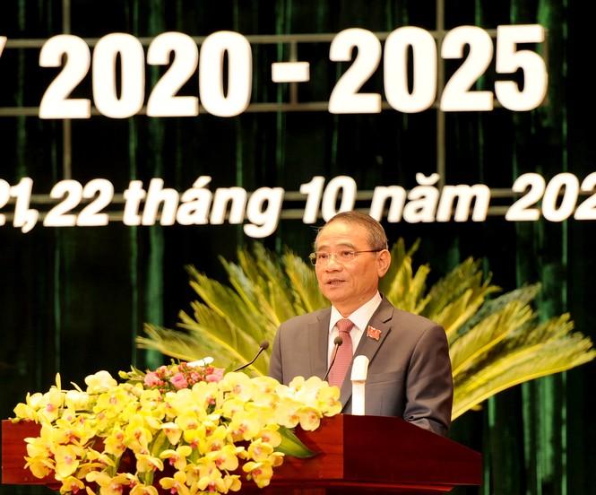 Đại hội đảng bộ TP Đà Nẵng, đại biểu quyên góp được hơn 140 triệu ủng hộ dân vùng bão lụt - ảnh 1