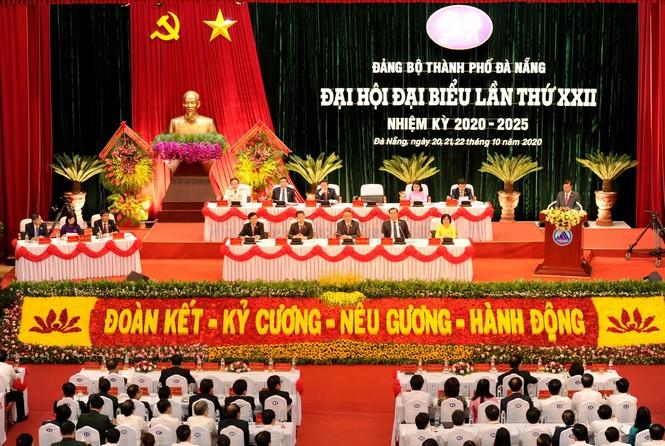 Đại hội đảng bộ TP Đà Nẵng, đại biểu quyên góp được hơn 140 triệu ủng hộ dân vùng bão lụt - ảnh 2