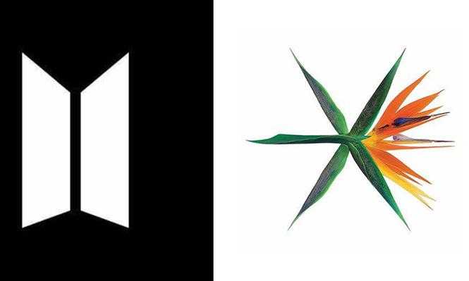 """Điểm lại những logo đẹp tới nỗi """"nhìn đã biết được công ty cưng"""" của nhóm nhạc K-Pop - ảnh 1"""