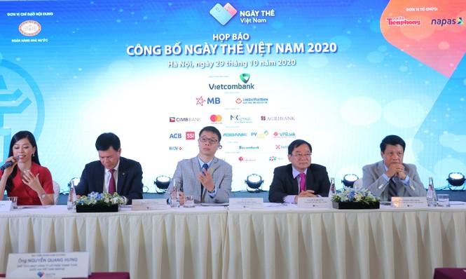 Họp báo khởi động chuỗi sự kiện Ngày Thẻ Việt Nam  - ảnh 1