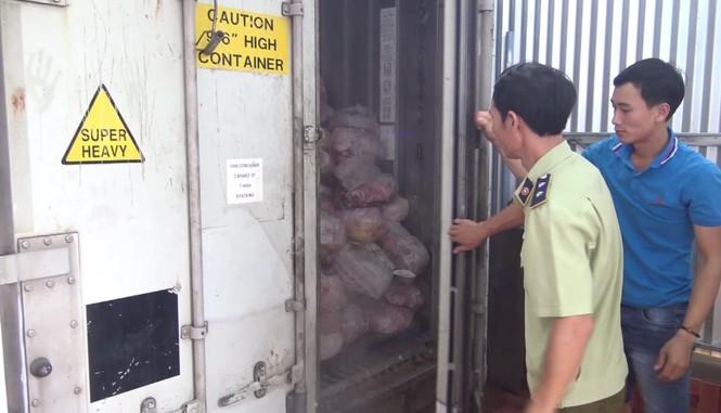 Hàng chục tấn thịt nhiễm dịch tả lợn châu Phi được làm giò chả - ảnh 2