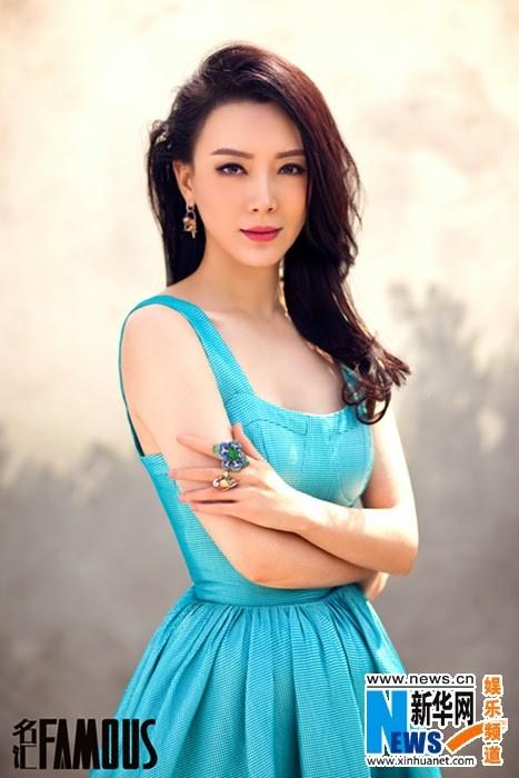 """Mỹ nhân """"Tân bến Thượng Hải"""" quyến rũ trên tạp chí - ảnh 2"""