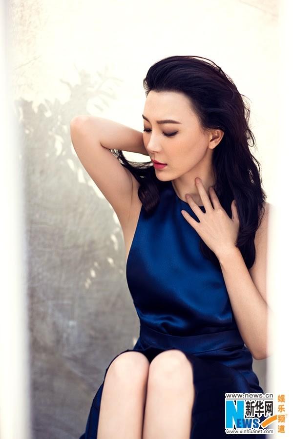 """Mỹ nhân """"Tân bến Thượng Hải"""" quyến rũ trên tạp chí - ảnh 5"""