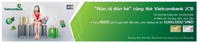 """Chương trình """"Rộn rã đón hè"""" dành cho thẻ Vietcombank JCB  - ảnh 2"""