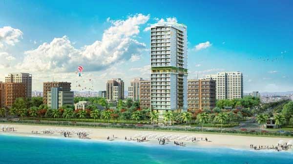 Chiêm ngưỡng căn hộ khách sạn 5 sao mặt biển Mỹ Khê - ảnh 1
