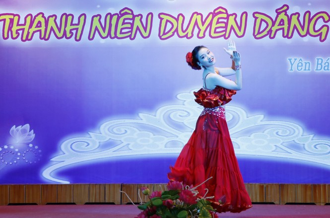 Nguyễn Bảo Ngọc giành Hoa khôi nữ thanh niên duyên dáng Yên Bái - ảnh 3
