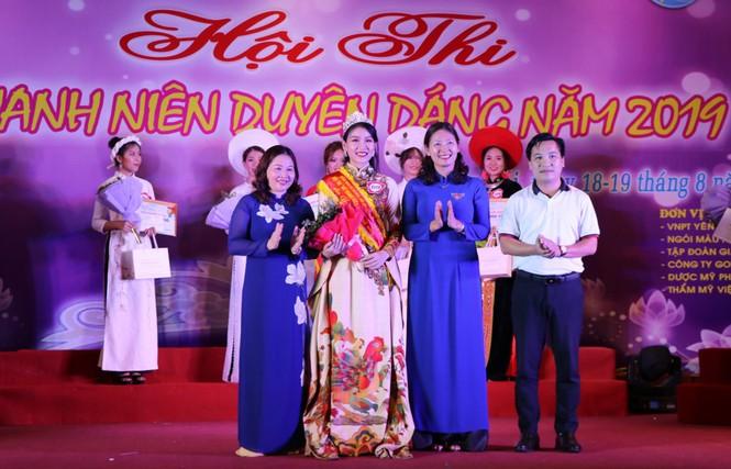 Nguyễn Bảo Ngọc giành Hoa khôi nữ thanh niên duyên dáng Yên Bái - ảnh 8