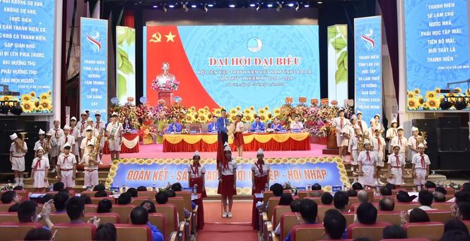 Anh Vũ Cao Minh đắc cử chủ tịch Hội LHTN tỉnh Lào Cai - ảnh 1