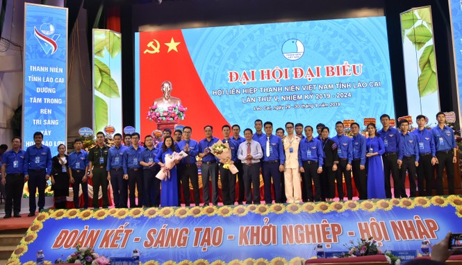 Anh Vũ Cao Minh đắc cử chủ tịch Hội LHTN tỉnh Lào Cai - ảnh 2