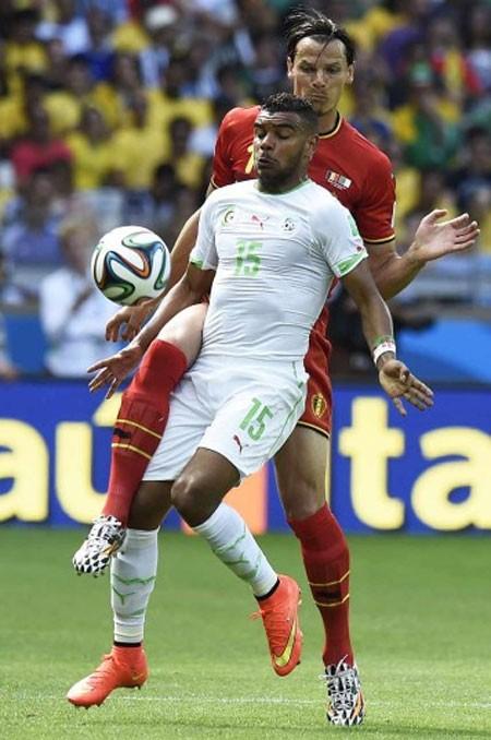 Nét mặt 'khó đỡ' của các sao trên sân cỏ World Cup - ảnh 13