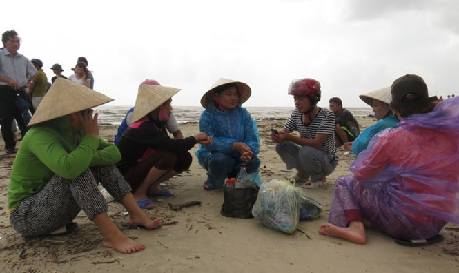 Xót xa xã biển Cảnh Dương sau mưa lũ - ảnh 4