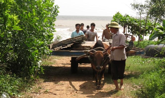Xót xa xã biển Cảnh Dương sau mưa lũ - ảnh 5