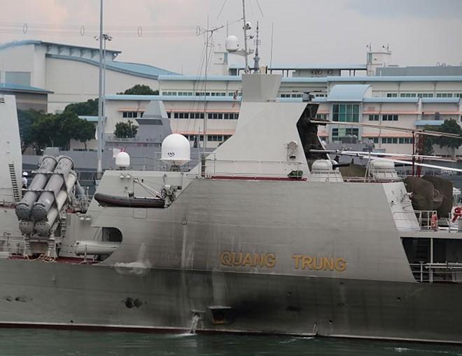 Chiến hạm Quang Trung - tàu hộ vệ tên lửa uy lực nhất của Việt Nam - ảnh 11