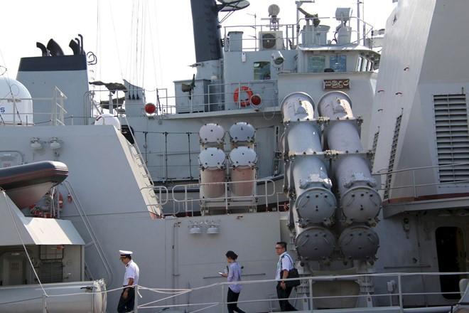 Chiến hạm Quang Trung - tàu hộ vệ tên lửa uy lực nhất của Việt Nam - ảnh 10