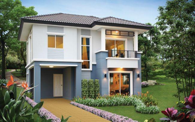 Những mẫu nhà 2 tầng mái thái kiểu mới đẹp ngẩn ngơ - ảnh 2