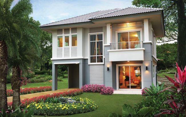 Những mẫu nhà 2 tầng mái thái kiểu mới đẹp ngẩn ngơ - ảnh 3