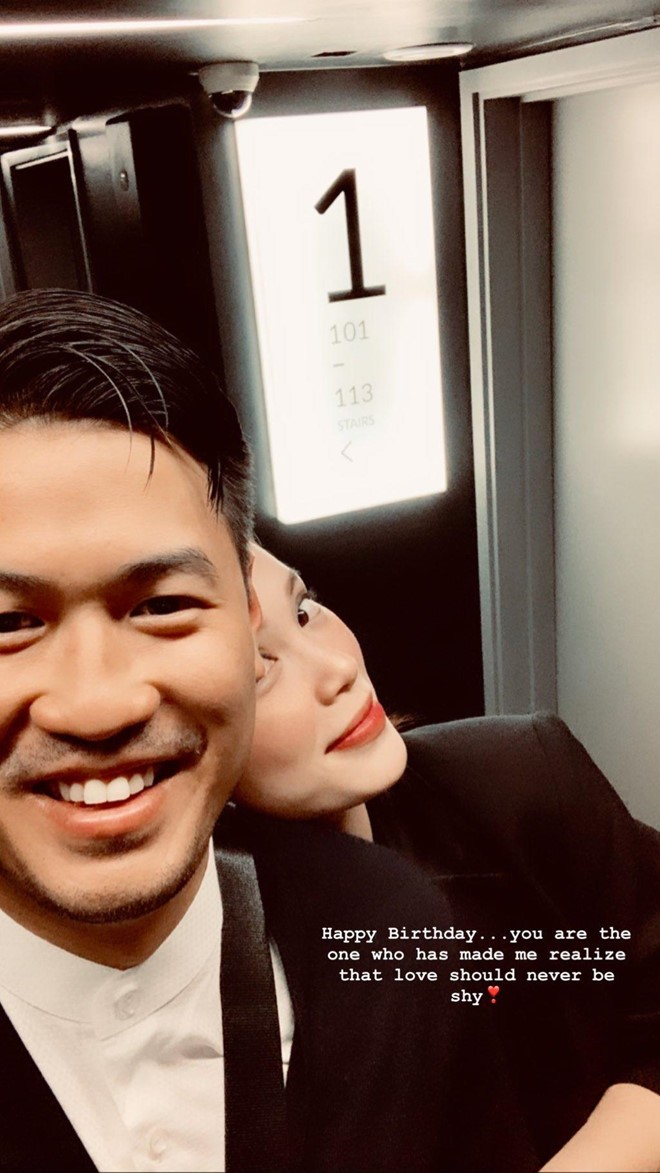 Thiếu gia Phillip Nguyễn đăng ảnh tình tứ mừng sinh nhật hot girl Linh Rin - ảnh 1
