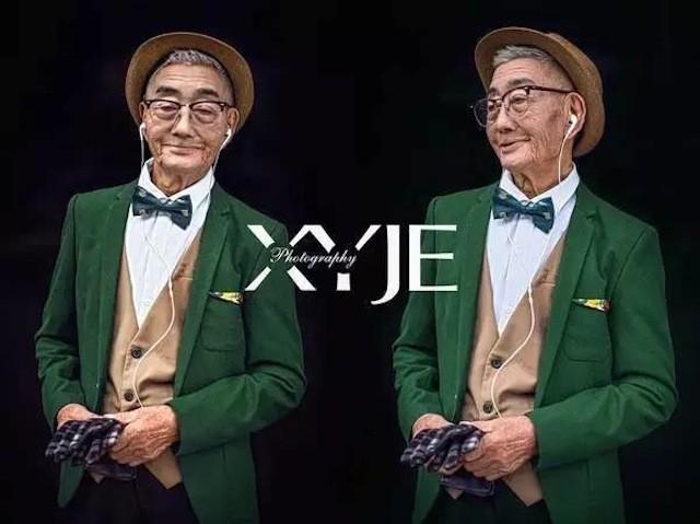 Mãn nhãn với cụ ông 85 tuổi sành điệu bậc nhất Trung Quốc - ảnh 1