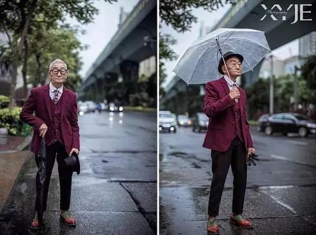 Mãn nhãn với cụ ông 85 tuổi sành điệu bậc nhất Trung Quốc - ảnh 2