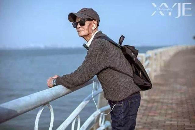 Mãn nhãn với cụ ông 85 tuổi sành điệu bậc nhất Trung Quốc - ảnh 3