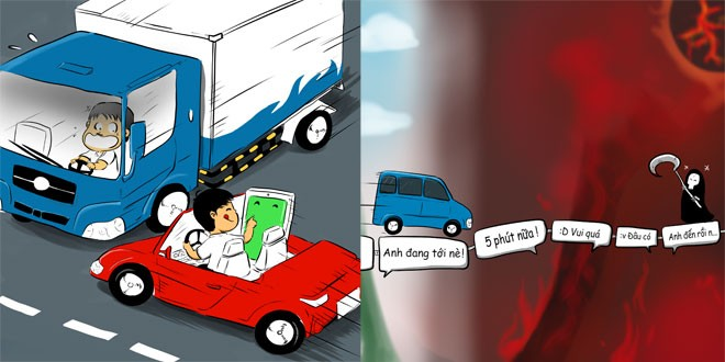 'Không nhắn tin khi lái xe' có khó? - ảnh 1