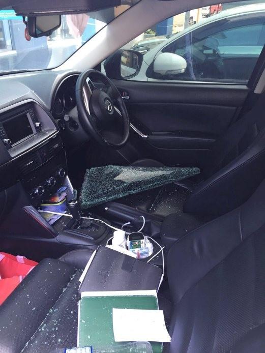 Cán bộ huyện bị mất hơn trăm triệu tiền thưởng tết trên ô tô - ảnh 1