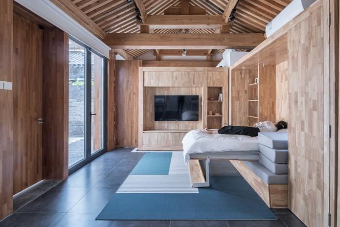 Ngôi nhà gỗ 30m2 'sang chảnh' đa tiện ích - ảnh 10