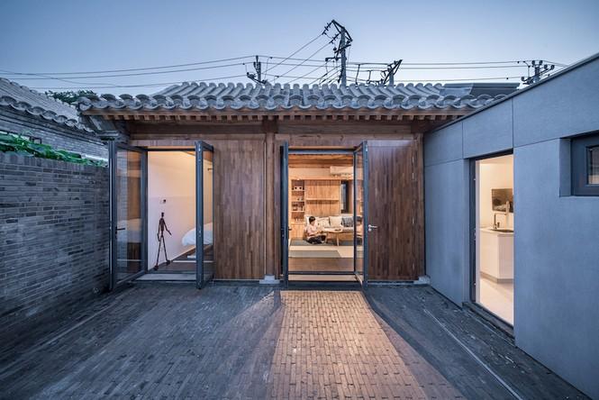 Ngôi nhà gỗ 30m2 'sang chảnh' đa tiện ích - ảnh 1