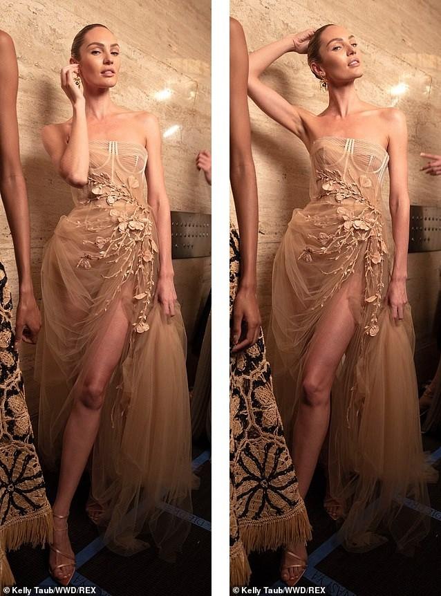 Irina Shayk và Candice Swanepoel đẹp động lòng người gây 'bão' sàn catwalk  - ảnh 6