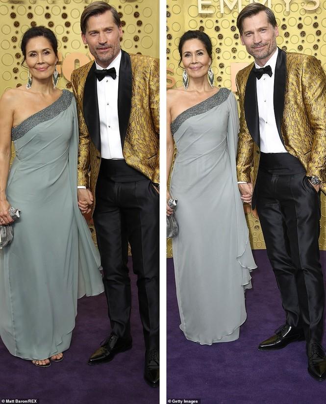 'Mẹ rồng' Emilia Clarke 'thả rông' tại Emmy, tái ngộ dàn sao Game of Thrones - ảnh 11
