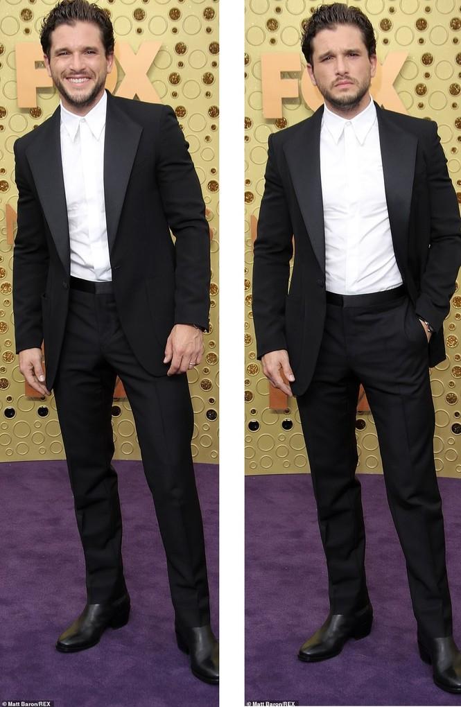 'Mẹ rồng' Emilia Clarke 'thả rông' tại Emmy, tái ngộ dàn sao Game of Thrones - ảnh 6