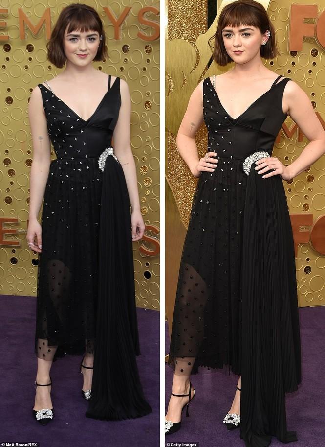 'Mẹ rồng' Emilia Clarke 'thả rông' tại Emmy, tái ngộ dàn sao Game of Thrones - ảnh 7