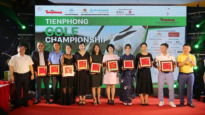 Toàn cảnh Gala trao giải Tiền Phong Golf Championship 2019 - ảnh 6