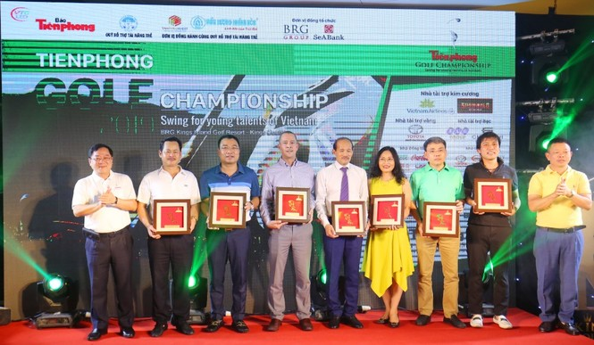 Toàn cảnh Gala trao giải Tiền Phong Golf Championship 2019 - ảnh 7