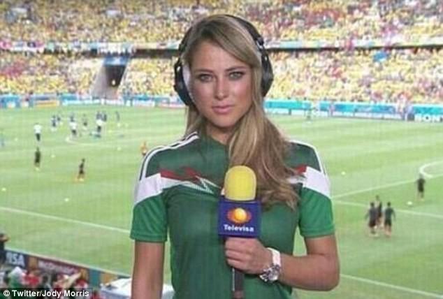 Ngất ngây với dàn phóng viên nữ nóng bỏng tại World Cup - ảnh 7