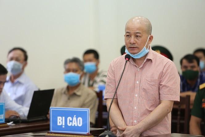 Cảnh sát áp giải cựu Bộ trưởng Đinh La Thăng cùng 18 bị cáo vào tòa - ảnh 4